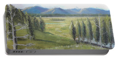 Yellowstone Overlook Portable Battery Charger by Jayne Wilson