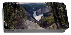 Yellowstone Water Fall Portable Battery Charger