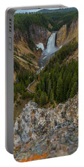 Yellowstone Upper Falls Portable Battery Charger
