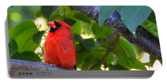 Portable Battery Charger featuring the photograph Yes I'm Listening by Betty-Anne McDonald