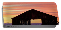 Yesterday And Today At Sunset Portable Battery Charger