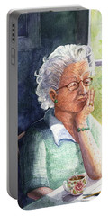 Portable Battery Charger featuring the painting Yesterday's Gone by Marilyn Smith