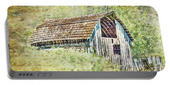 Portable Battery Charger featuring the photograph Yesteryear Barn by Jean OKeeffe Macro Abundance Art