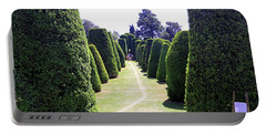 Portable Battery Charger featuring the photograph Yew Tree Garden by Tony Murtagh