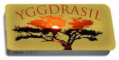 Yggdrasil- The World Tree Portable Battery Charger