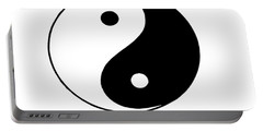 Yin And Yang Portable Battery Charger by Pat Cook