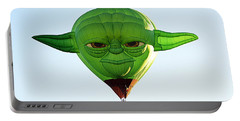 Portable Battery Charger featuring the photograph Yoda  by AJ Schibig