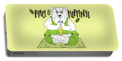 Yoga Beer Bear Portable Battery Charger