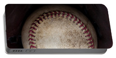 Yogi Berra Quote Portable Battery Charger by David Patterson