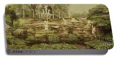 York House Gardens Statues - Twickenham Portable Battery Charger