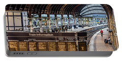 York Station 2 Portable Battery Charger by David  Hollingworth