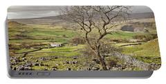 Yorkhire Dales Limestone Landscape Portable Battery Charger