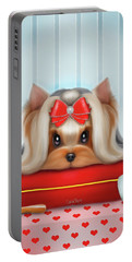 Yorkie Beauty Portable Battery Charger