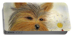Yorkie Summer Fun Portable Battery Charger