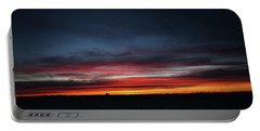 Portable Battery Charger featuring the photograph Yorkton Sunrise by Ryan Crouse