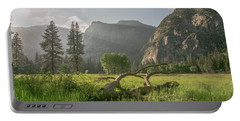 Sundown On The Valley Portable Battery Charger by Ryan Weddle