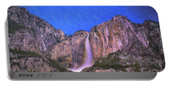 Yosemite At Night Portable Battery Charger