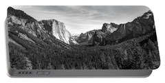 Yosemite B/w Portable Battery Charger