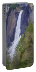 Yosemite Falls Digital Watercolor Portable Battery Charger