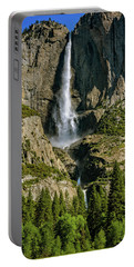 Portable Battery Charger featuring the photograph Yosemite Falls by John Hight