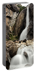 Yosemite Falls Lower And Hiker Portable Battery Charger