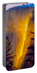Yosemite Firefall Painting Portable Battery Charger