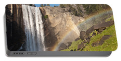 Yosemite Mist Trail Rainbow Portable Battery Charger