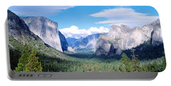 Yosemite National Park, California, Usa Portable Battery Charger