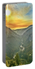Yosemite Tunnel View Portable Battery Charger