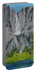 Yosemite Upper Falls Portable Battery Charger
