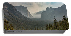 Portable Battery Charger featuring the photograph Yosemite Valley by Kristia Adams