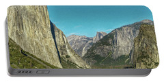 Yosemite Valley Photo Painting 7r2_dsc2400_10072017 Portable Battery Charger