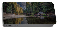 Yosemite Valley Reflections Portable Battery Charger
