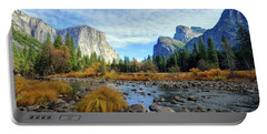 Yosemite Valley View Portable Battery Charger