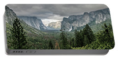Yosemite View 36 Portable Battery Charger by Ryan Weddle