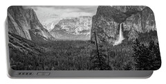 Yosemite View 38 Portable Battery Charger by Ryan Weddle