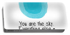 You Are The Sky Portable Battery Charger