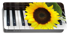 You Are The Sunshine Of My Life - A Love Song Portable Battery Charger by Dora Sofia Caputo Photographic Art and Design