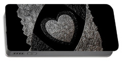 You Encompass My Heart Portable Battery Charger