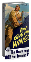 You Give Him Wings - Ww2 Portable Battery Charger