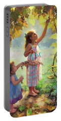 You Will Bear Much Fruit Portable Battery Charger