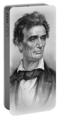 Young Abe Lincoln Portable Battery Charger by War Is Hell Store