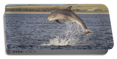 Young Bottlenose Dolphin - Scotland #13 Portable Battery Charger