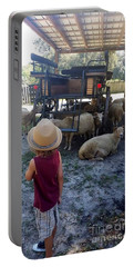 Young Country Boy Portable Battery Charger