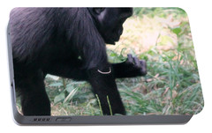 Portable Battery Charger featuring the photograph Young Gorilla by Laurel Talabere