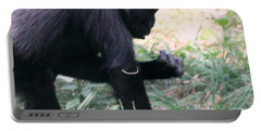 Young Gorilla Portable Battery Charger by Laurel Talabere