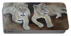 Young Lions Portable Battery Charger