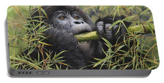 Young Mountain Gorilla Portable Battery Charger