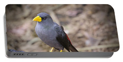 Young Myna Portable Battery Charger by Judy Kay