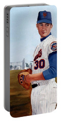 Young Nolan Ryan - With Mets Portable Battery Charger